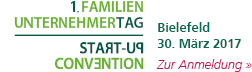 Familienunternehmertag und Start-up-Convention