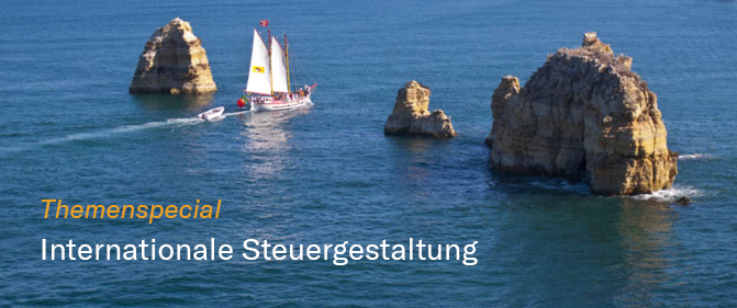 "Themenspecial ""Internationale Steuergestaltung"""
