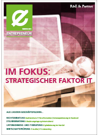 Entrepreneur: Strategischer Faktor IT