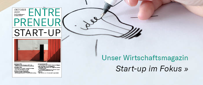 Wirtschaftsmagazin Enrepreneur: Start-up